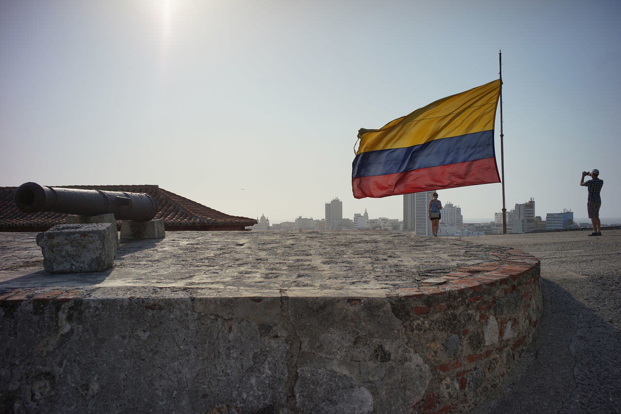Beautiful stock photos of flaggen, Architecture, Building Exterior, Built Structure, Cartagena