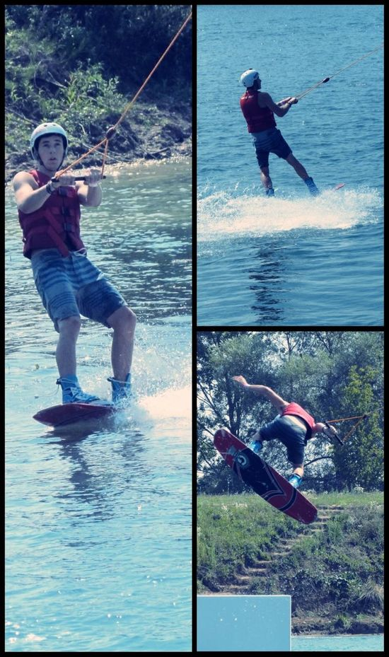 Wakeboarding Water Slides Waves Water_collection
