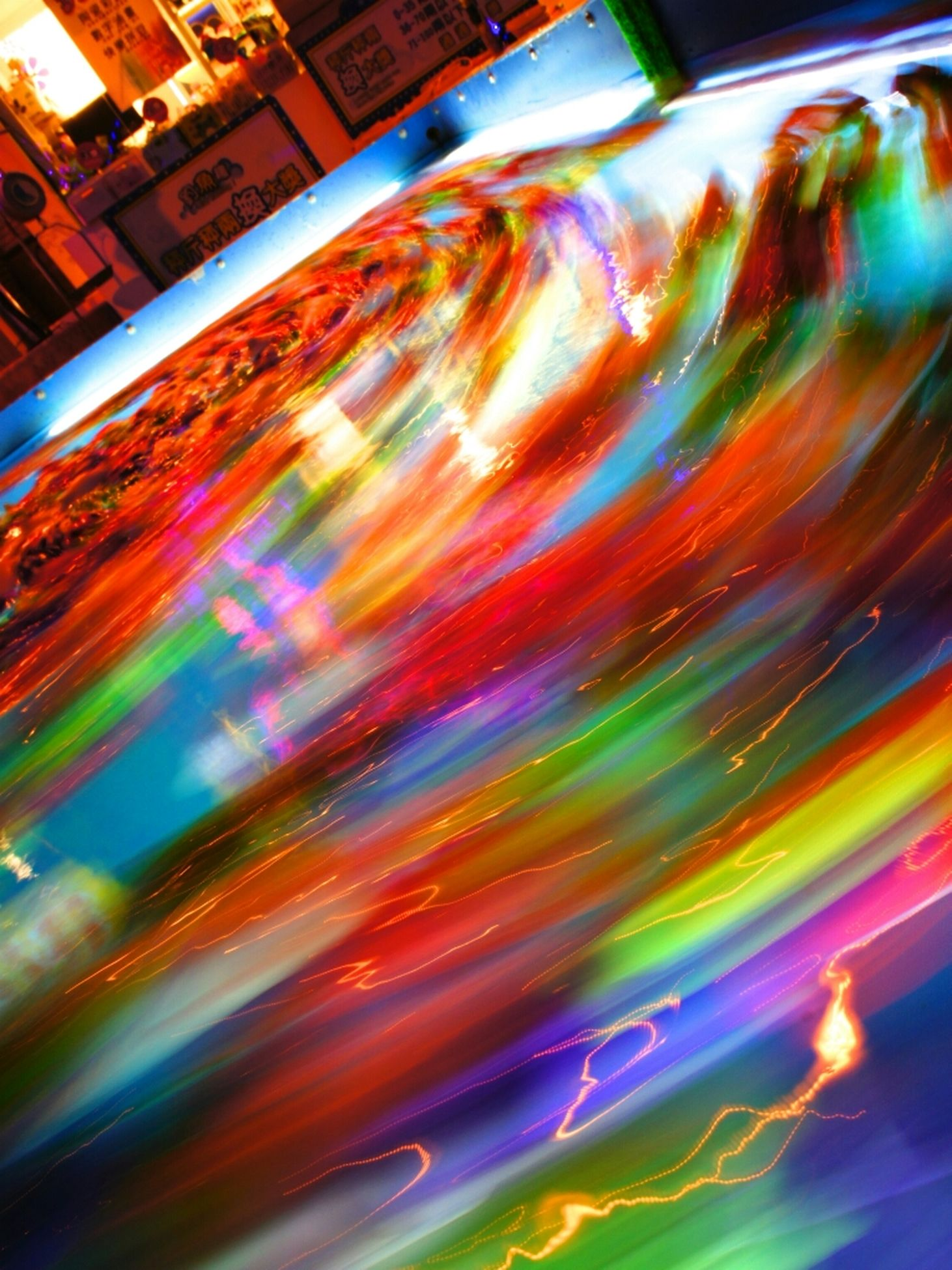 multi colored, long exposure, light trail, motion, illuminated, blurred motion, transportation, full frame, abstract, speed, backgrounds, night, city, car, street, colorful, road, land vehicle, no people, glass - material