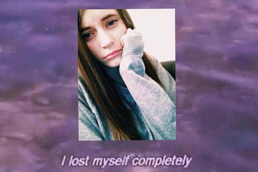 Sad Face Just Because I Hate My Life Alternative