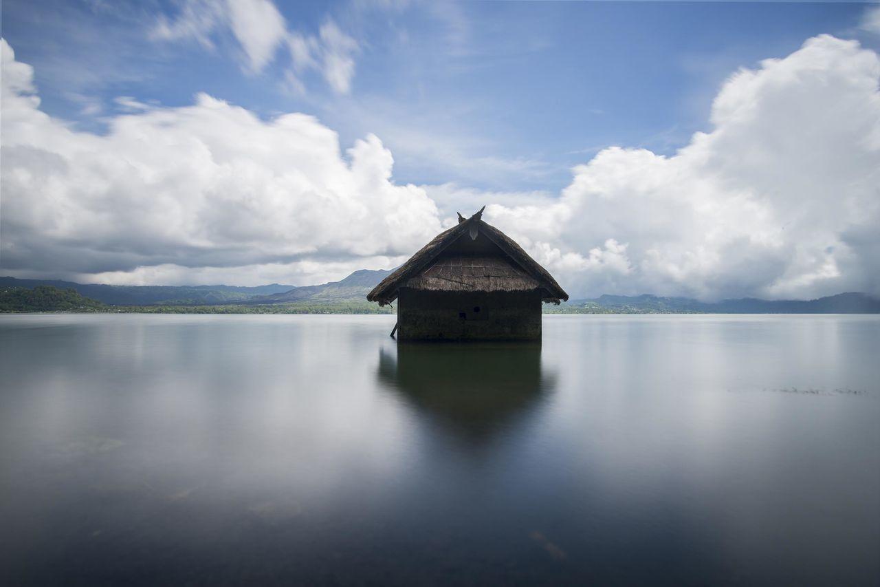 Beautiful stock photos of bali, water, reflection, cloud - sky, tranquility