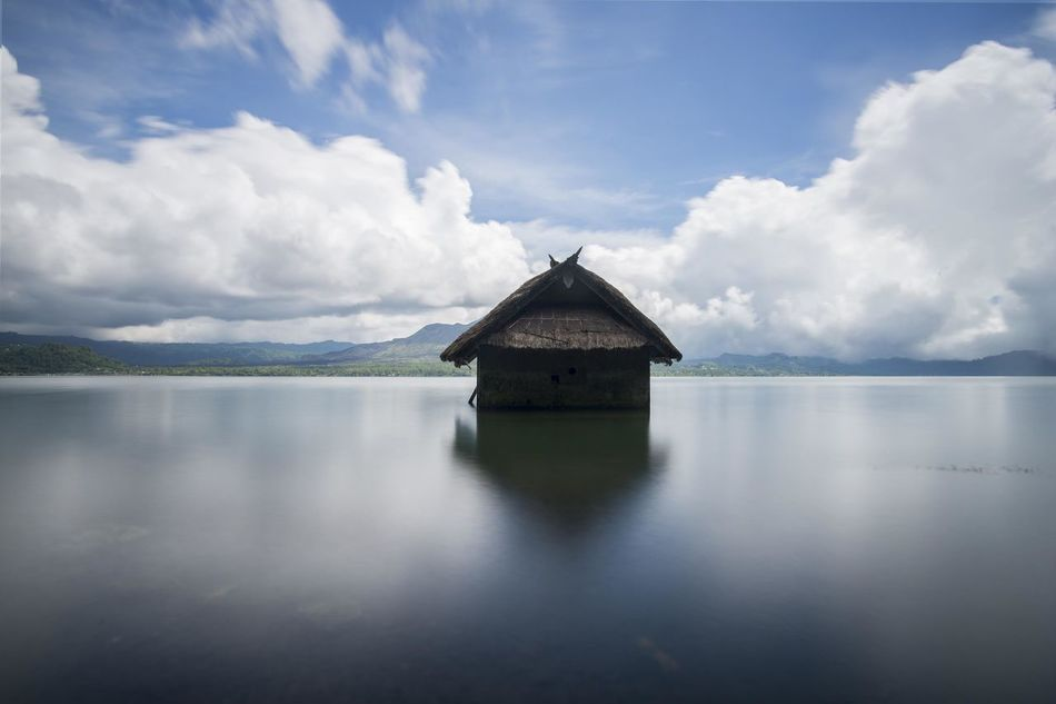 Beautiful stock photos of bali, water, reflection, cloud - sky, tranquility