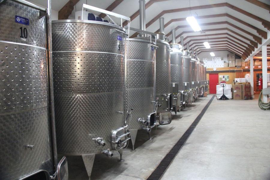 Fermentation Tanks Wine Wine Making Wine Route Winery