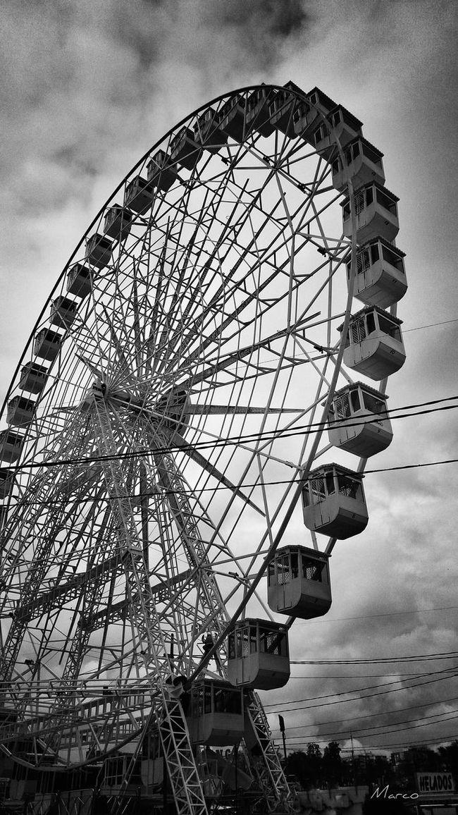 Noria Noria, Feria Atracciones Built Structure Leisure Activity Day Cloud Sevillagram Sevilla, España sevilla andalucía Picsagram HDR Photography Architecture EyeEm PhonePhotography