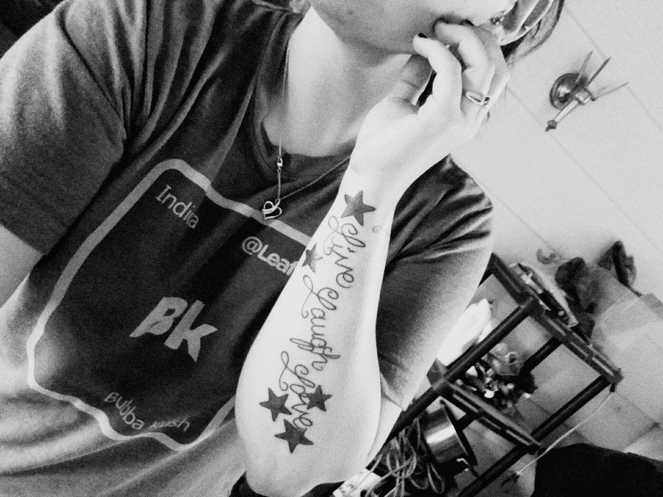 Love.laugh.love Tattoo Livelaughlove♡