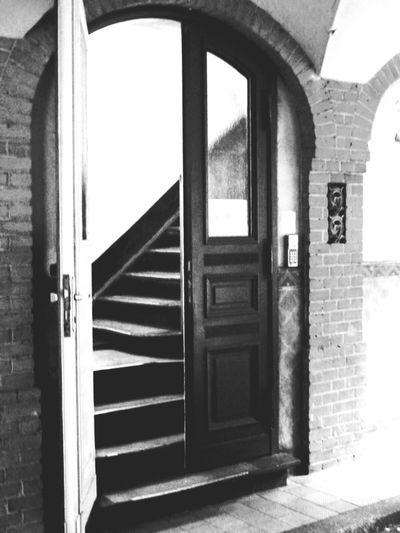Door Entrance Doorway Open Steps
