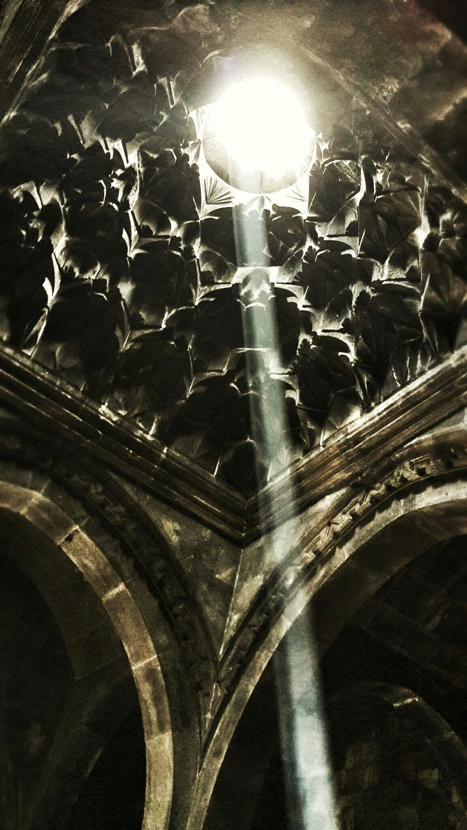 Gothic Church Hole Of Light Sunlight Holy Inspiring Getting Inspired