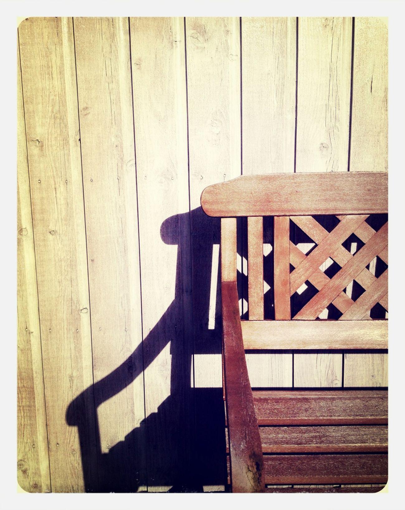 Wood Summer Bench Simplicity