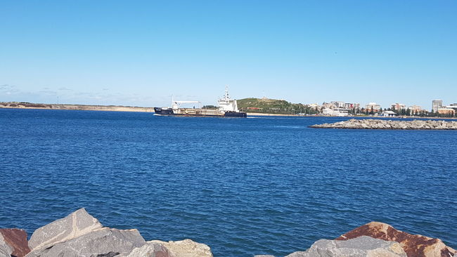 Newcastle harbour Relaxing