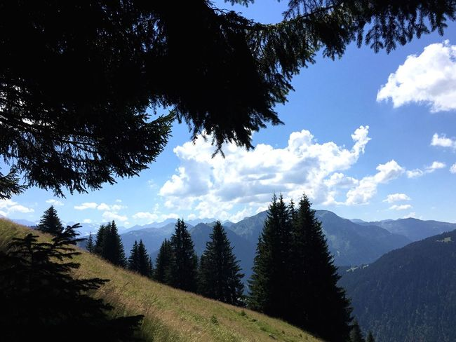 Mountains Hiking Alps Landscape Nature View