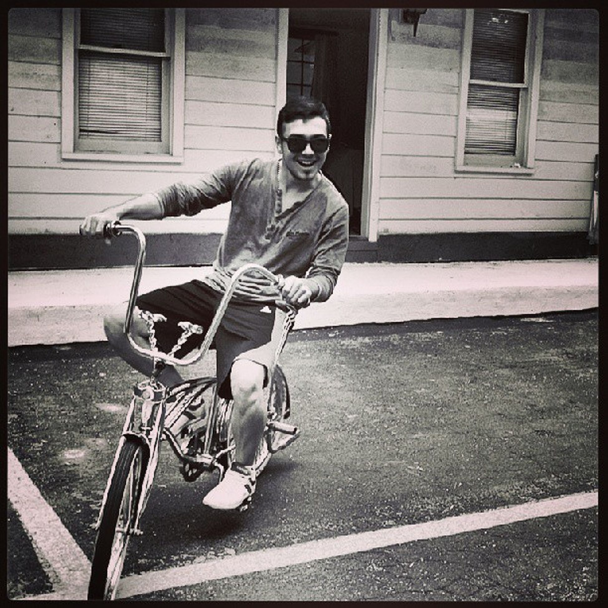 so my bicycle is model 67 Hanging Out Panton Colors By Gizmon Black And White Me instacool instapic america