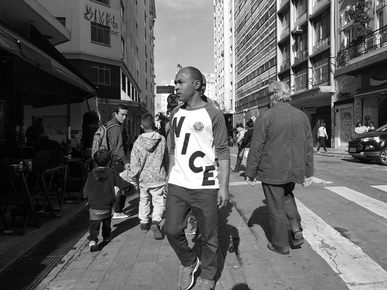 """Nice"". July, 2017 Streetphotography Blackandwhite Saopaulo"