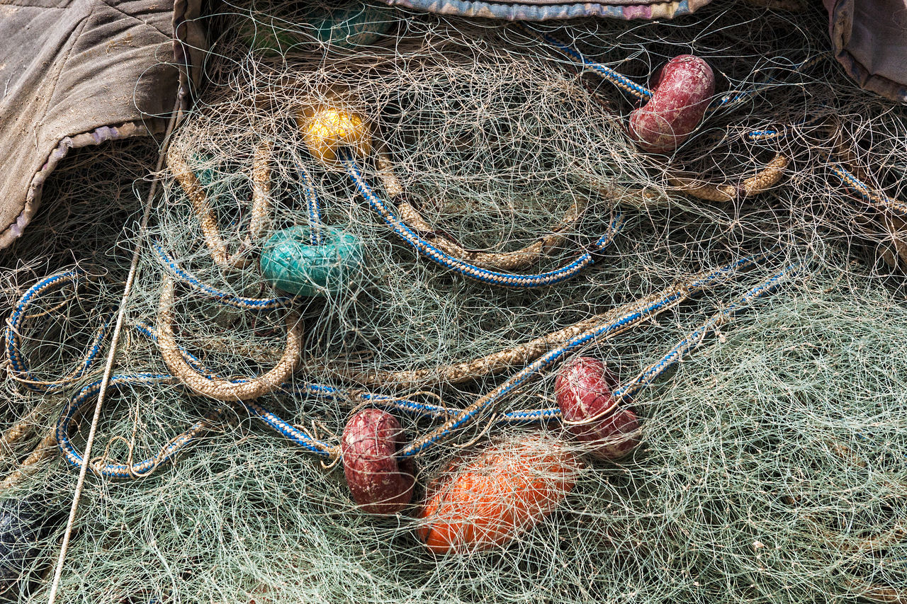 Netting 10 Blue Color Buoys Colorful Detail Fabric Fabric Detail Fishing Green Green Color Harbour Harbour View Harbourside Large Group Of Objects Mediterranean Culture Multi Colored Net Netting Red Red Buoys Red Color Repetition RGB Still Life Textures Yellow Buoy