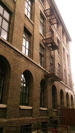 Looks like NY but it isn't Brick Building Old Factory Fire Escape Piano Factory Grotriansteinweg University Campus Brunswick Braunschweig