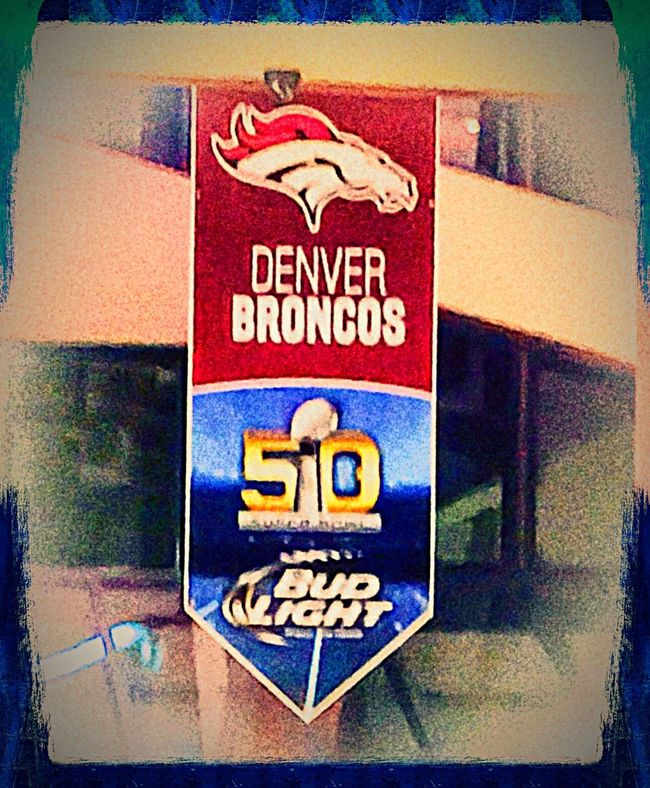 My Denver Broncos won Super Bowl 50!!! Amazing night Super Bowl 50 SB Champions Denverbroncos MVP_VonMiller February 2016 Emotionalmoment QBPeytonManning 2015DenverBroncos DenverBroncosGirl4Life Denverbroncosfamily
