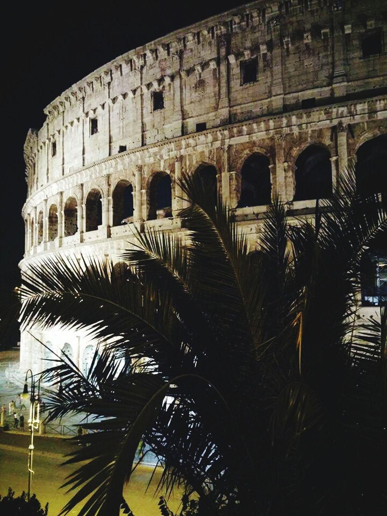 Rome By Night Roma Di Notte Colosseum
