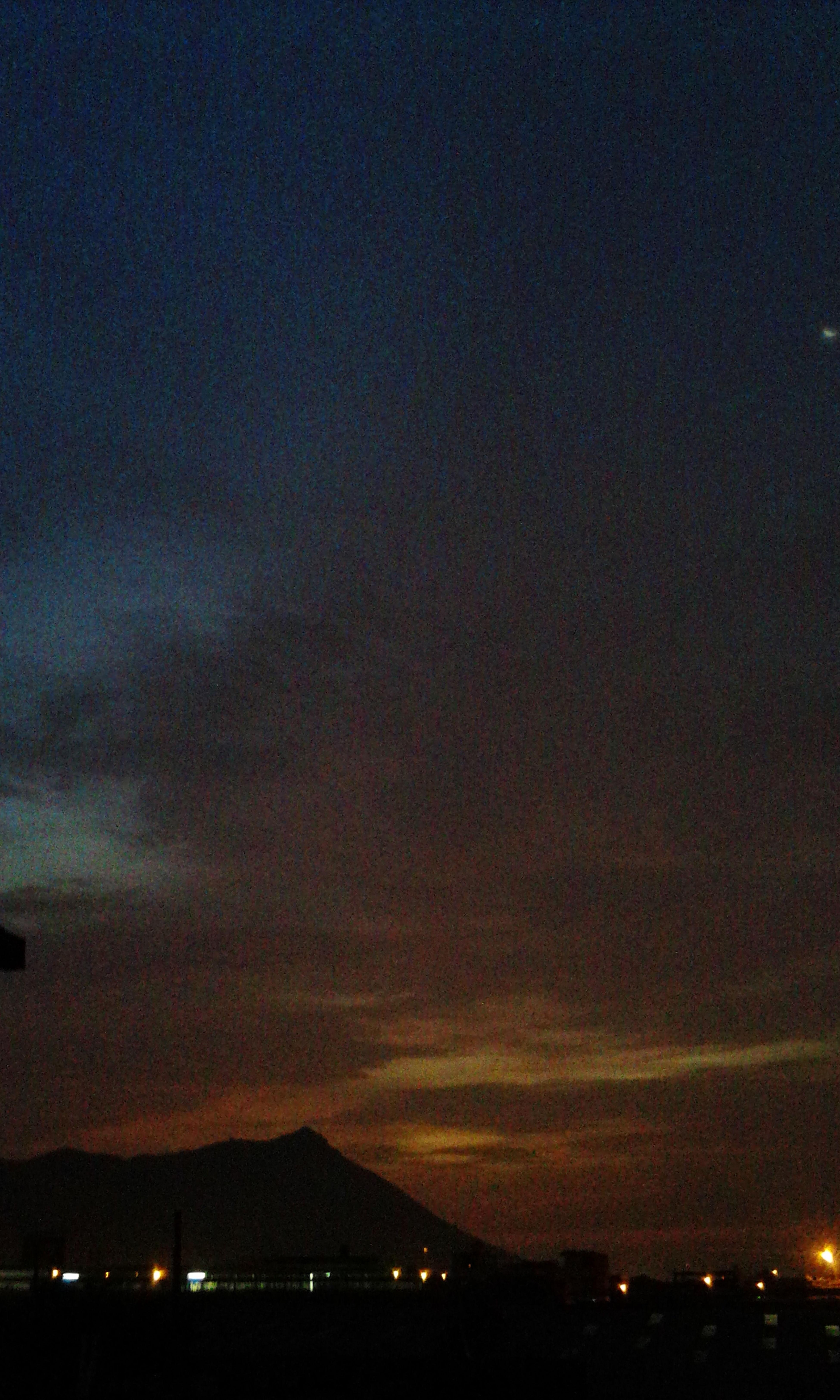 Sunset Night Sunset Vs Night
