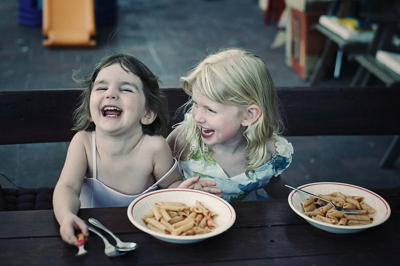 Sharing a joke - priceless Film 35mm Film Film Is Not Dead Film Photography Emotions Emotion Laughing Laughter Kids Playing Kids Being Kids Best Friends Joy Of Life Joyful Moments Friendship Friends