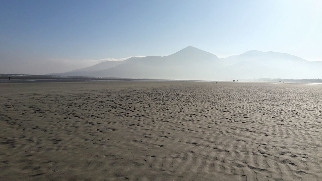 Murlough Beach looking towards Slieve Donard Slieve Donard Beach Beach Photography Sand Landscape Nature Tranquility Beauty In Nature Clear Sky Mountain EyeEmNewHere EyeEm Selects