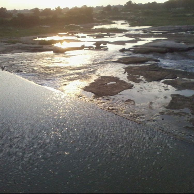 Galaxyy Sun River Water Bridge Ranchi Irfan Instagram Instagood Instasun Mandar Fb Irfan2266 HASHTAG Flow  5foru Specialshots 2014 InstaIrfan Nature Rocks Bike Ride