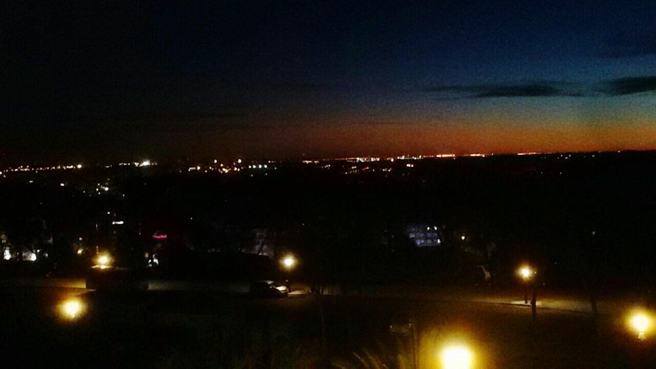 illuminated, night, cityscape, no people, growth, city, sky, nature, outdoors