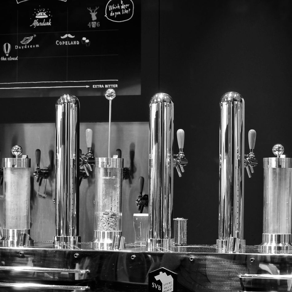Blackandwhite Black And White Monochrome Cityscapes Cityscape Beerporn Beer Time Urban Escape I ❤ Beer Restaurant