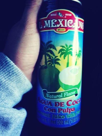 Coconut Juice Is Bomb