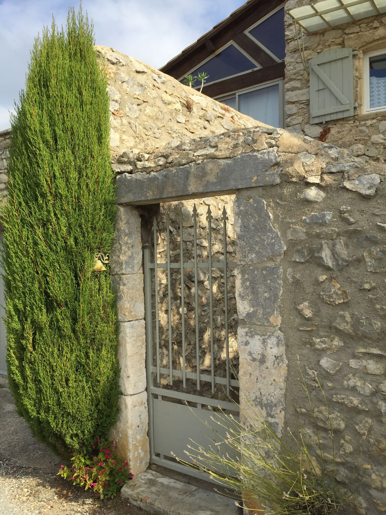France Occitanie Gard Lussan Village Village Life Architecture Built Structure Building Exterior No People House Day Outdoors Nature Sky Enjoying Life