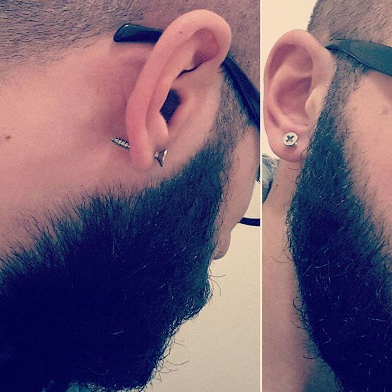 New Peircings Yeni Küpe Screw Vida Beard Beardgang Beardedboy Beardporn Btfu Igers Igersoftheday TBT  Stylish Boy Instalike Instabeard Instaboy Instapeircing Tagstagram Like4like Tagsforlikes Istanbul Beylikduzu