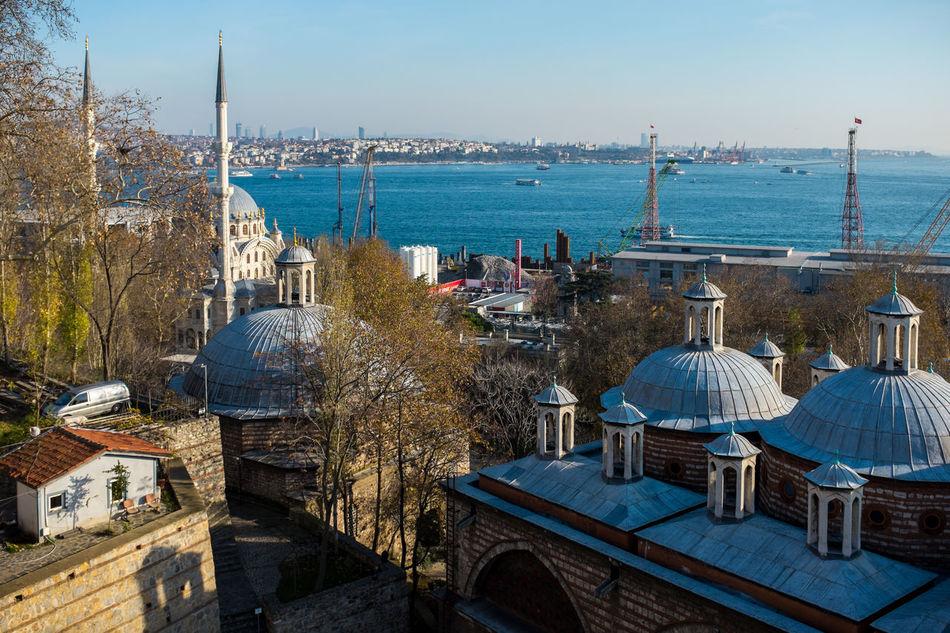 Tophane-i Amire and view in Istanbul Beyoglu-ıstanbul Beyoğlu Bosphorus Europe Istanbul Old Architecture Ottoman Empire Overhead View Tophane-i Amire TophaneiAmire Turkey Turkishfollowers Türkei Türkiye
