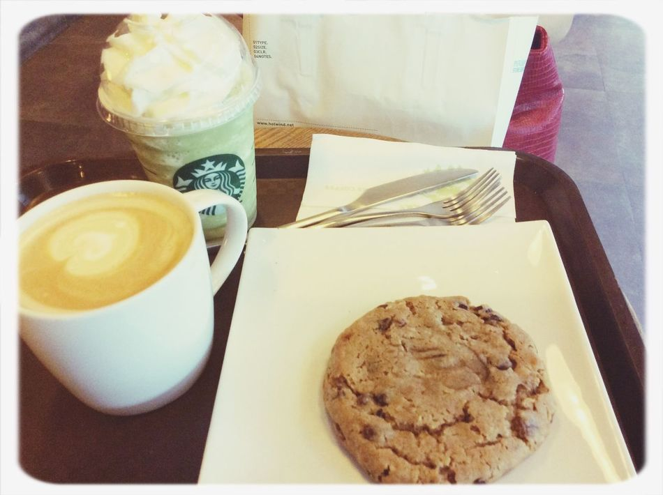 Spend the afternoon with Peggy @ Starbucks