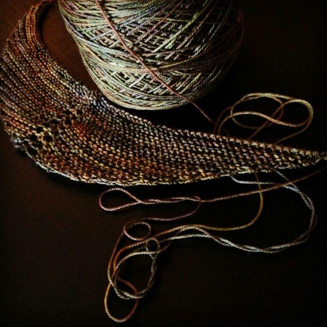 Morning light. WIP. KAL  Malabrigo  Knitting