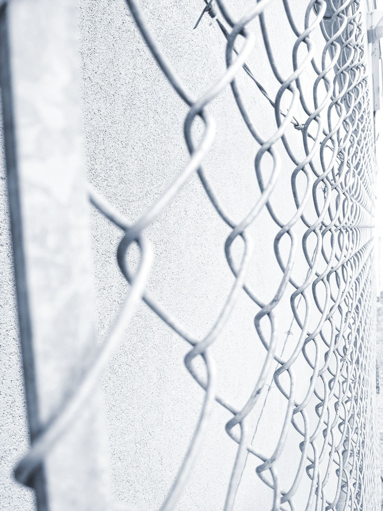 Fences Security Chainlink Fence Safety Protection Pattern Metal Barbed Wire No People Separation Outdoors Close-up Prison Cage Abstract