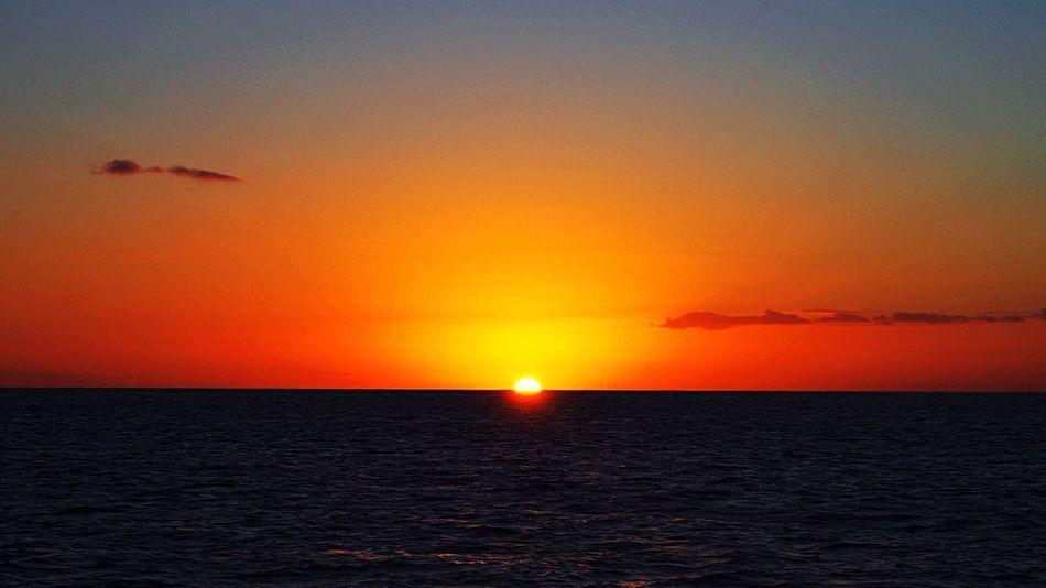 Sunset Sunset #sun #clouds #skylovers #sky #nature #beautifulinnature #naturalbeauty #photography #landscape Mauiphotography Kaanapali Hawaii