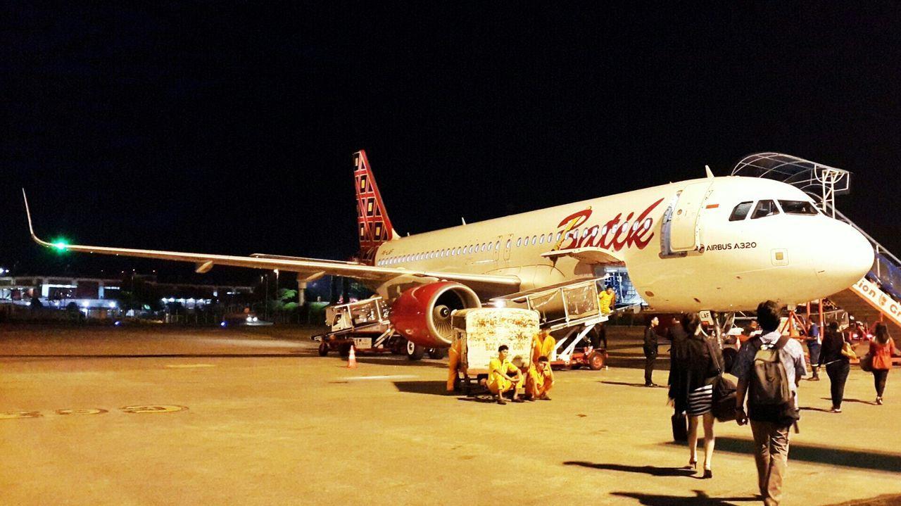 Batik Air Flight Batik Air Airport Jakarta INDONESIA