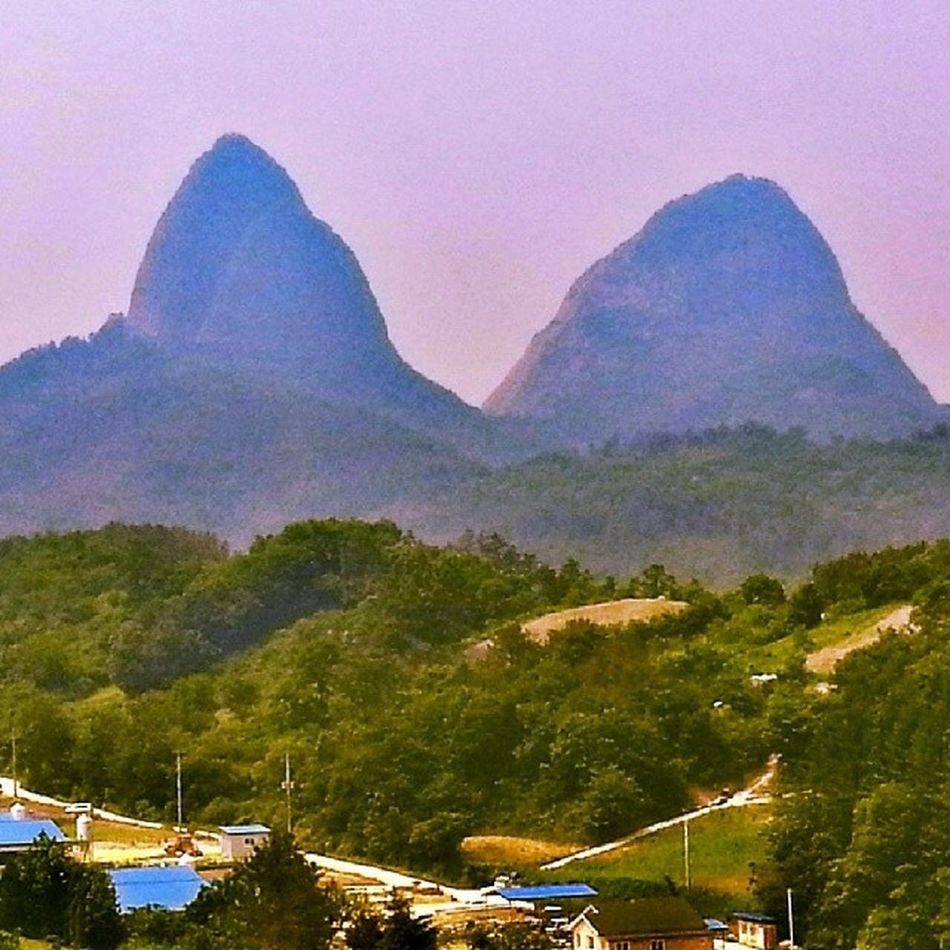 마이산(馬耳山) Mt. Mai, Jinan Korea  마이산  진안  산 Maisan mountain Jinan