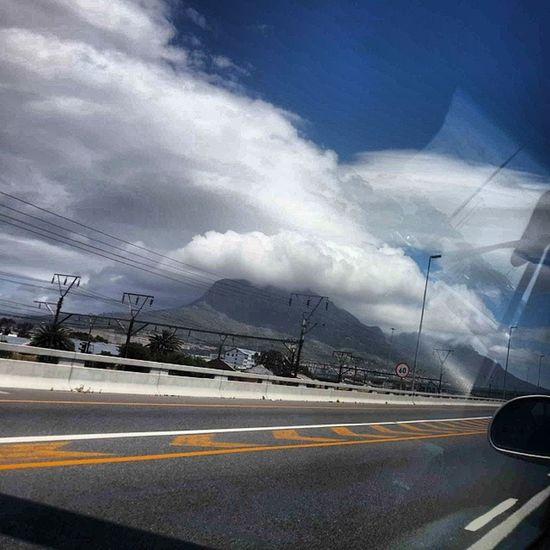 the evil clouds in Capetown today. Ontheroad Local Boyfriendgirlfriend
