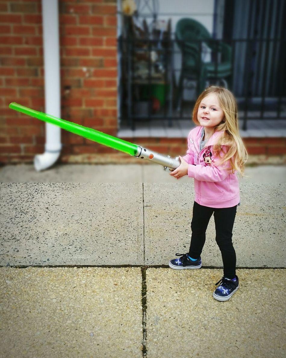 """Truly wonderful the mind of a child is."" -yoda Edit Tadaa Community Taking Photos Children Portrait Padawan Star Wars Fun Lightsaber"