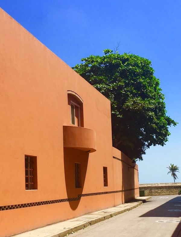 Architecture Cartagena Colombia Salmona Architectural Detail Gabriel Garcia Marquez arquitectura