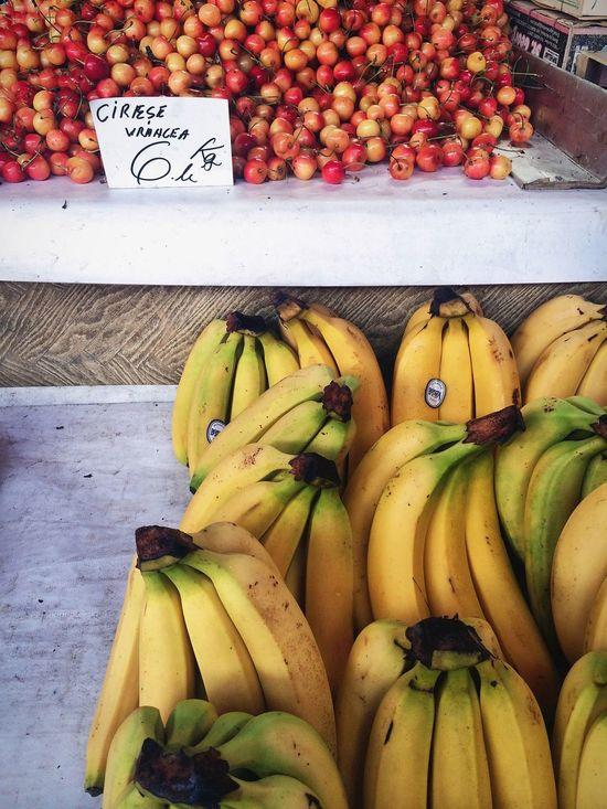 Street Photography Market Fruits Cherry
