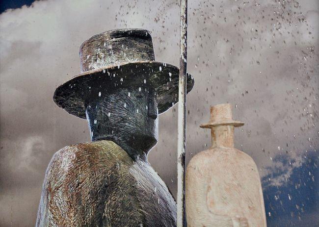 Talking about the weather and the rain Nikon D90 Model The Portraitist - 2015 EyeEm Awards Raindrops NEM Memories Walking Around Mistery ArtWork