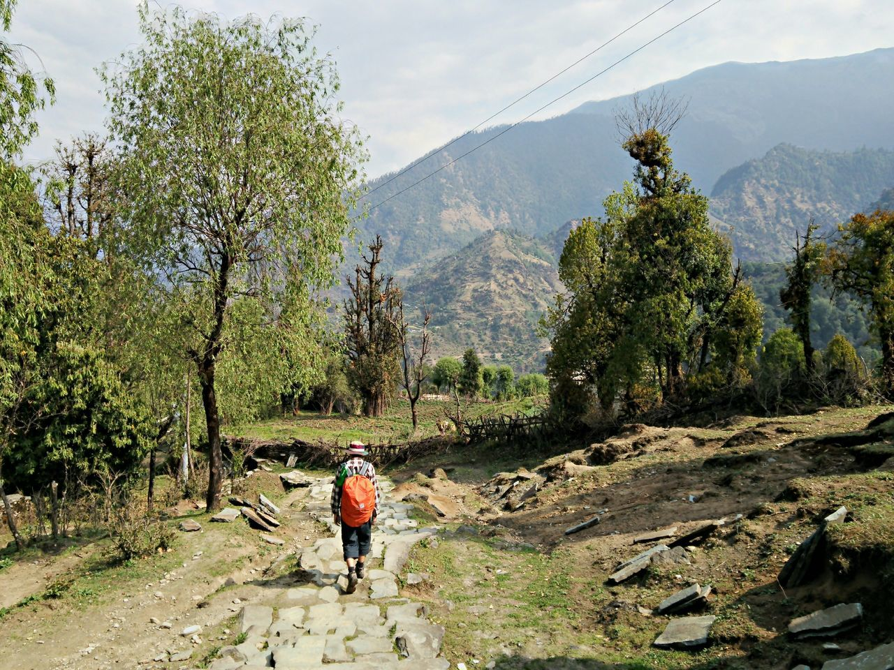 Beautiful stock photos of annapurna,  Backpack,  Beauty In Nature,  Day,  Footpath