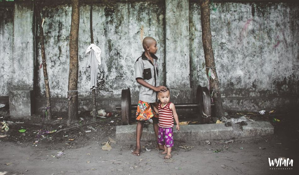 Childhood Child Children Only Streetphotography Streetphoto_bw Outdoors Yangon, Myanmar