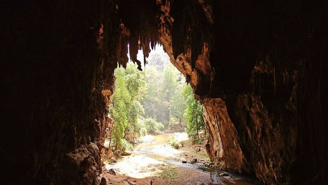 Thailand Lod Cave Pai Mae Hong Son Caves Nature Mystic World Of Nature Stalactites Stalagmites