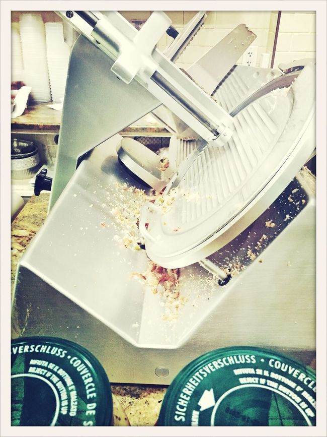 The Slicer - magic happens here Salvadorean Italian North End Food Foodporn NEM Mood AMPt_community