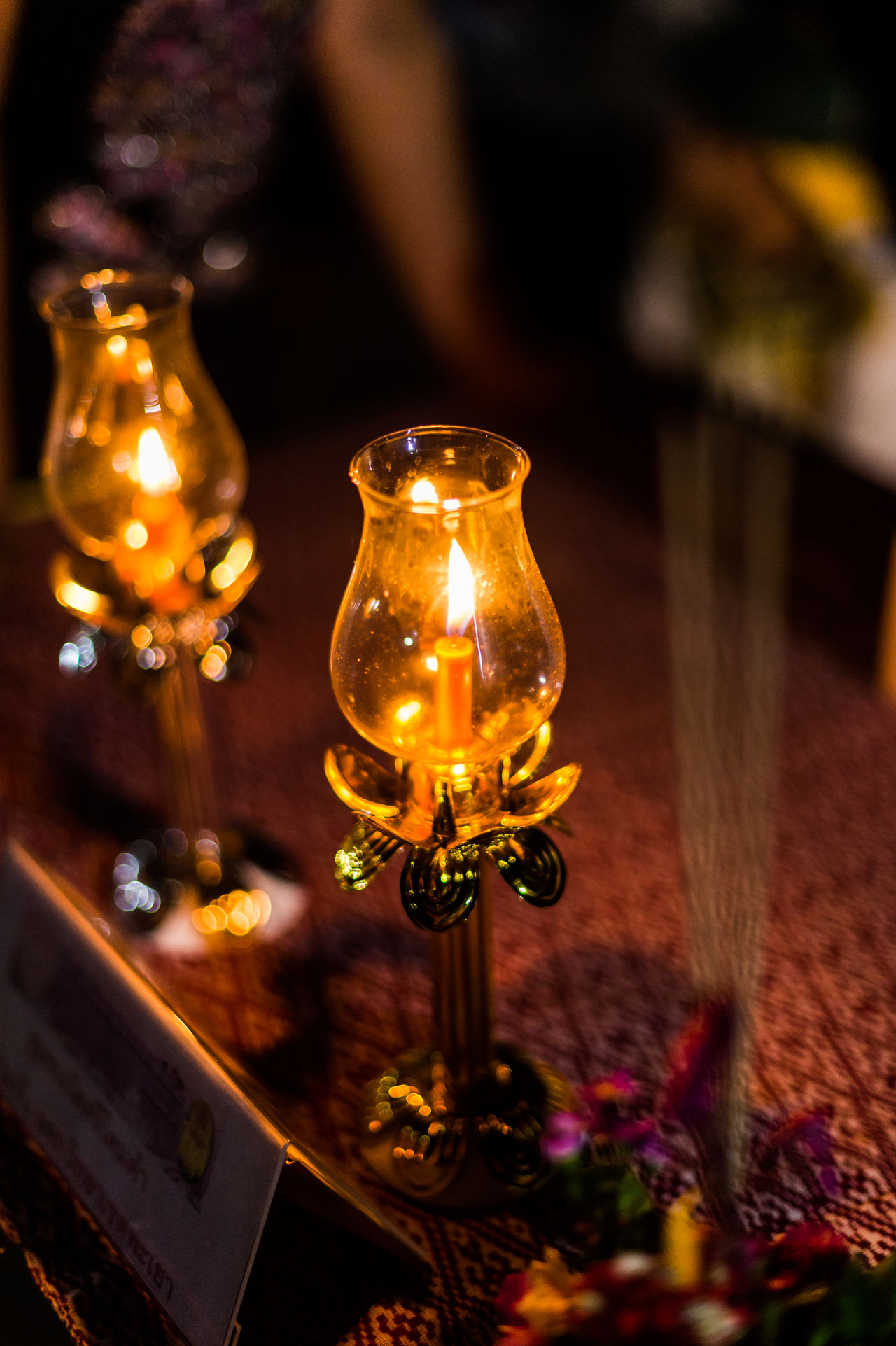 Candle Close-up Culture Design Focus On Foreground Illuminated Indoors  Lighting Equipment Night No People Objects