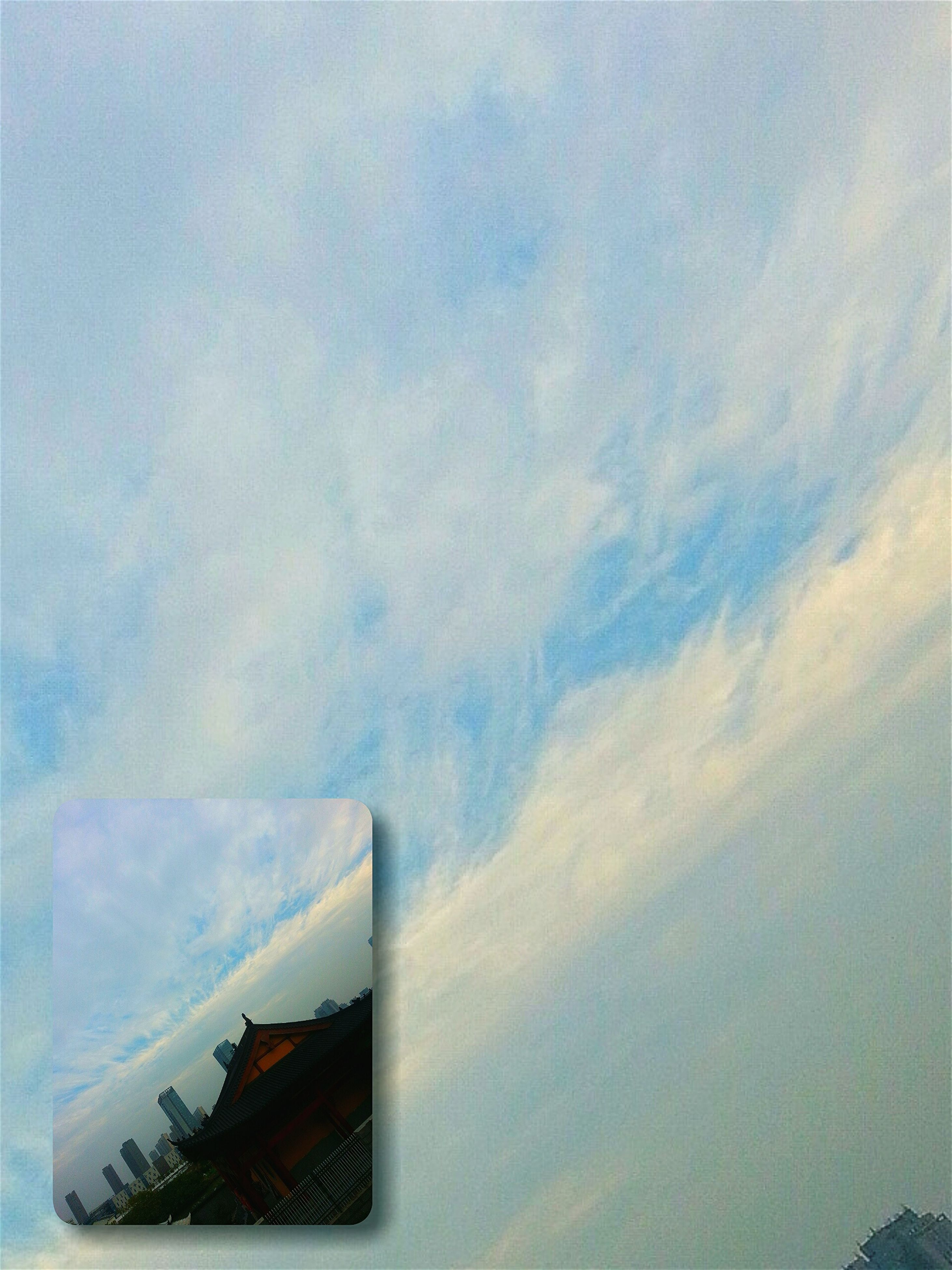 sky, no people, cloud - sky, low angle view, nature, outdoors, built structure, day, beauty in nature, architecture