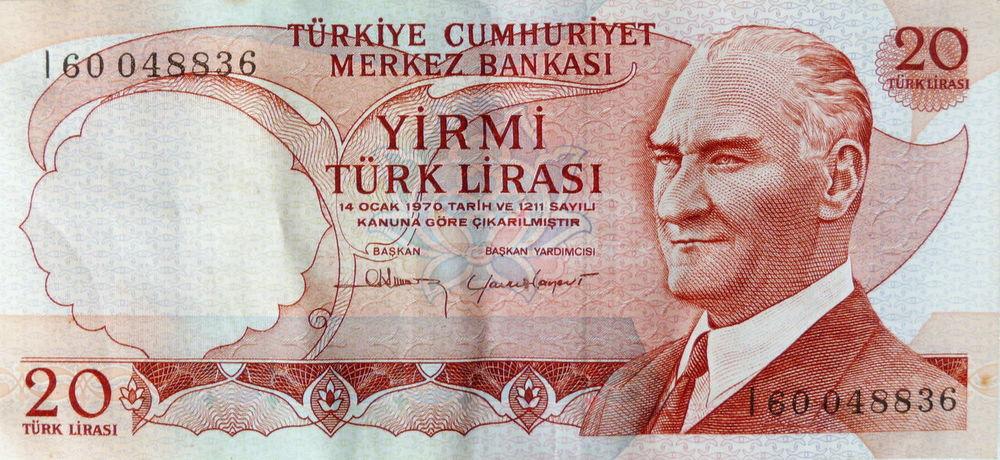 20 Close-up Geldschein  Lira Money No People Paper Responsibility Text Türkisch Währung