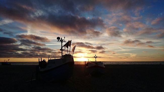 Ozean Sea Sea And Sky Sky Sunset Clouds Sonnenuntergang Meer Abendstimmung