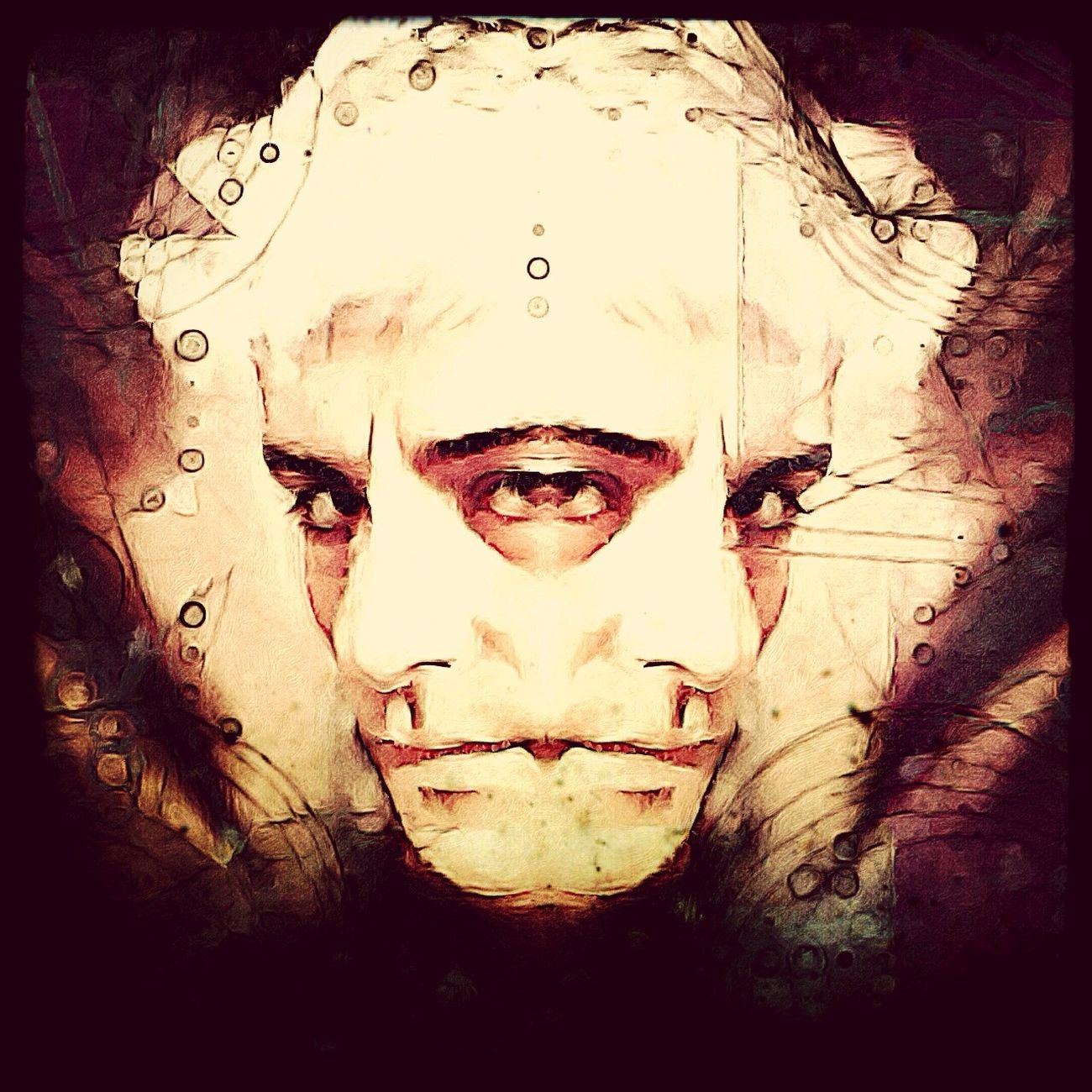 I become the Impasse. Then the Destruction. Digital Art Color Portrait Darkart Art